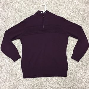 Men's Dockers Sweater Quarter Zip Size XL